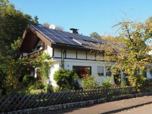 napelem rendszer napelemes ház